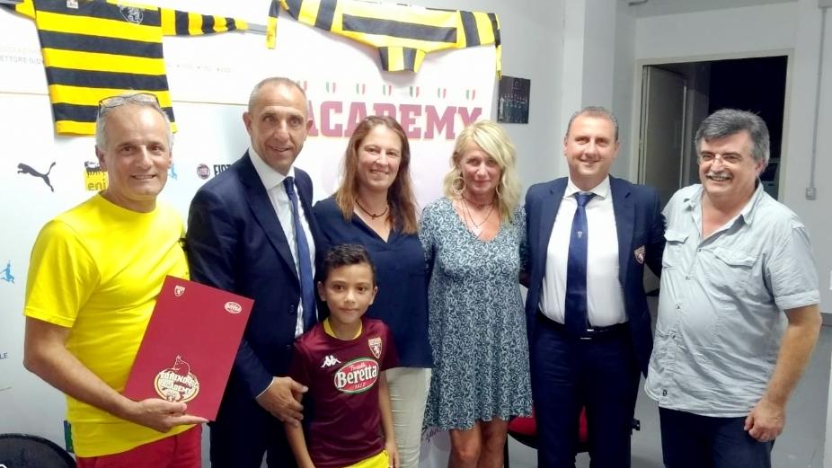Alla Baia di Alassio arriva la Torino FC Academy