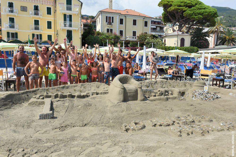 Castelli di Sabbia: vince Alassio