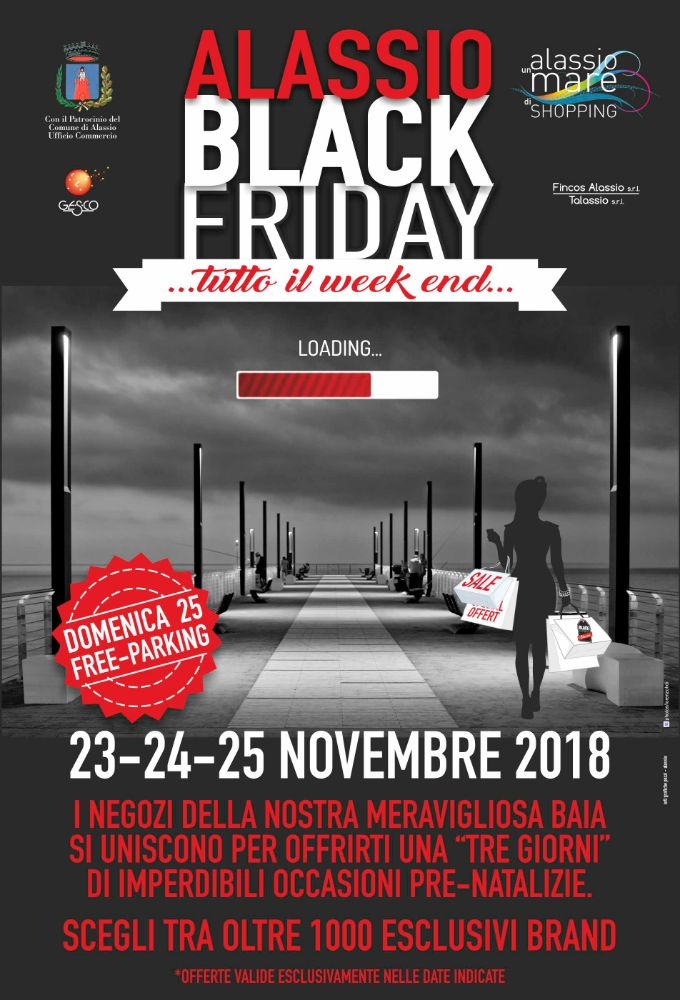 "Un ""Black Friday"" lungo un week end"