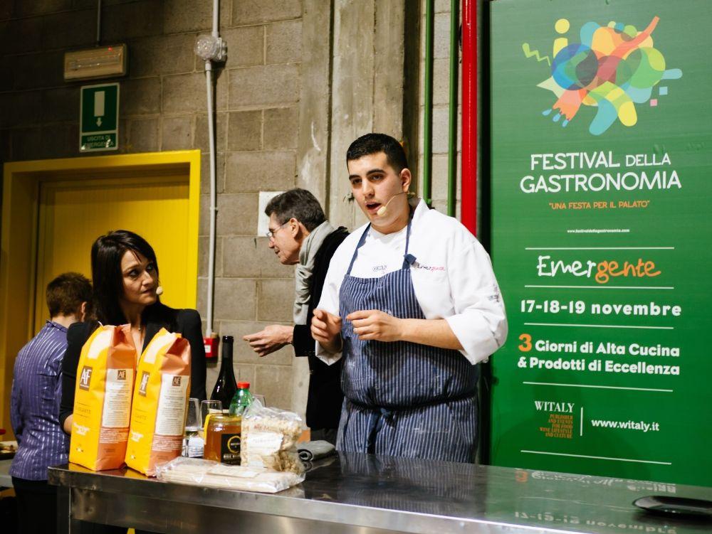 Al Festival della Gastronomia Giacomo Gaibisso stupisce con la ventre