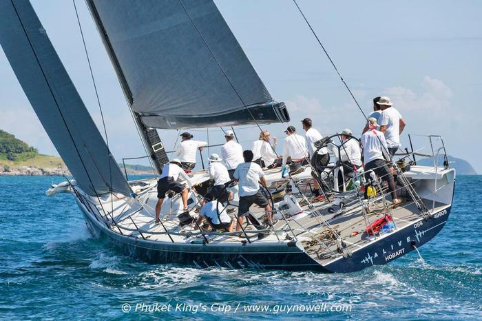 Un po' di Alassio a bordo di Alive dominatore della Rolex Sydney to Hobart