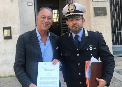 Alassio: Polizia Municipale in festa per San Sebastiano