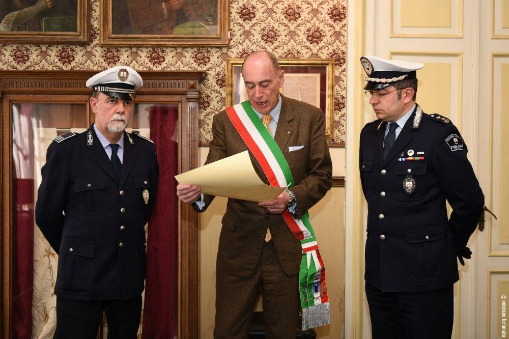 Encomio al Sovrintendente Capo della Polizia Municipale Gianluigi Losno