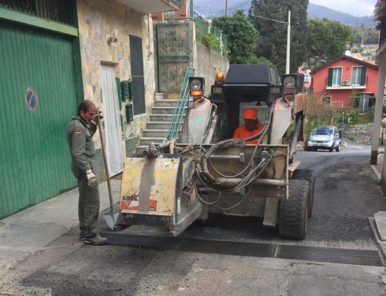 Nuovo asfalto per Via Solferino