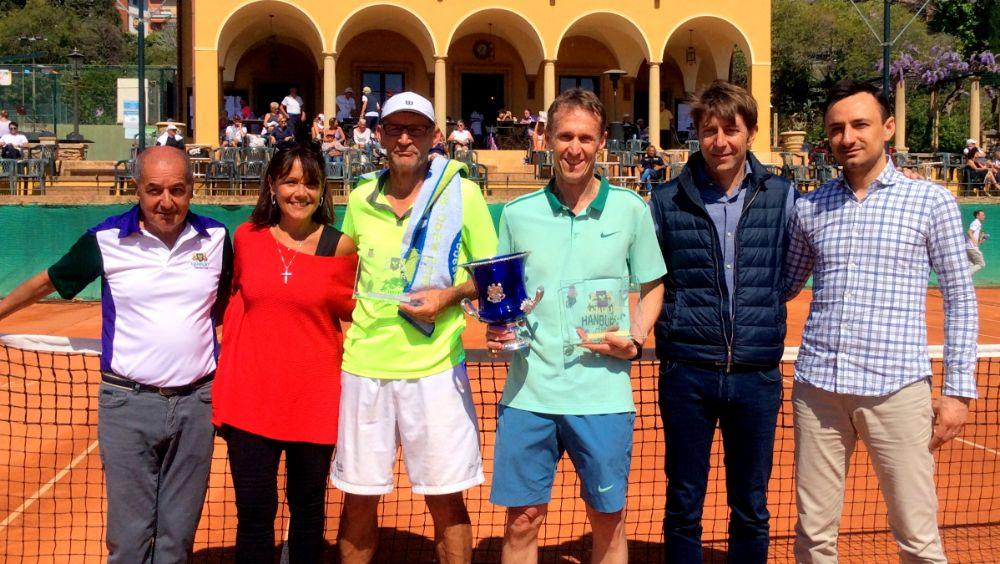 All'Hanbury Tennis Club di Alassio lo spettacolo dei campioni senza tempo