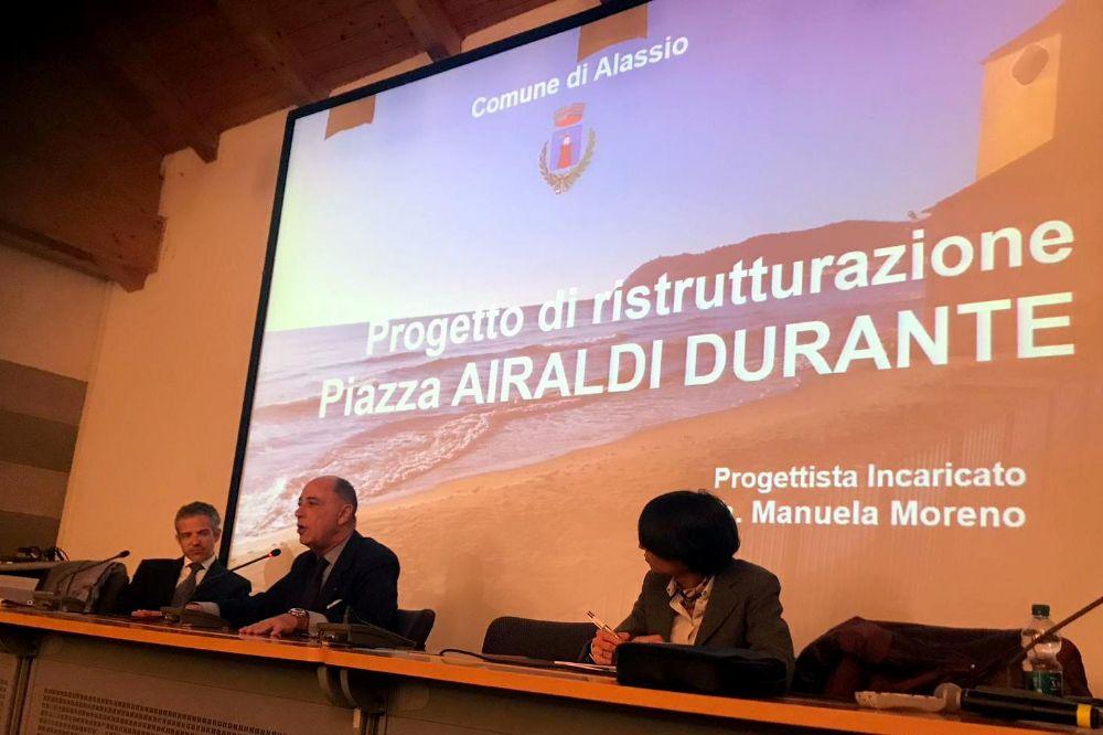 In biblioteca i progetti di Piazza Airaldi Durante