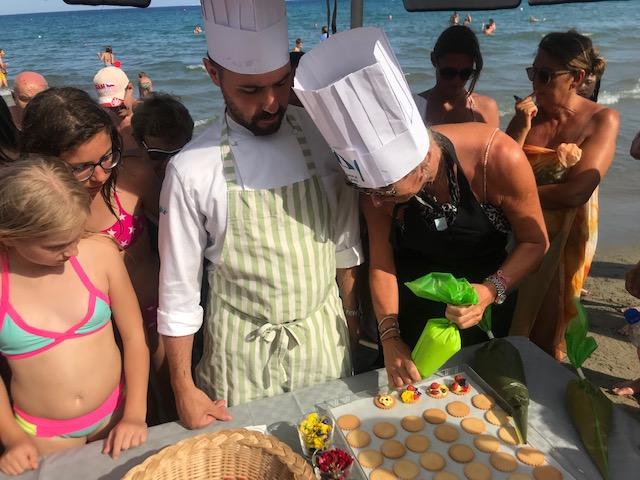 Alassio Food Experience: Cooking show & Wine tasting con il Pasticcere Simone Rupil e l'enologa Caterian Vio