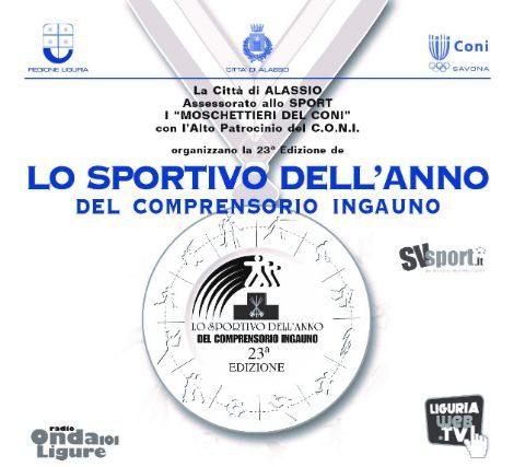 Lo sportivo dell'Anno del Comprensorio Ingauno: notte da campioni