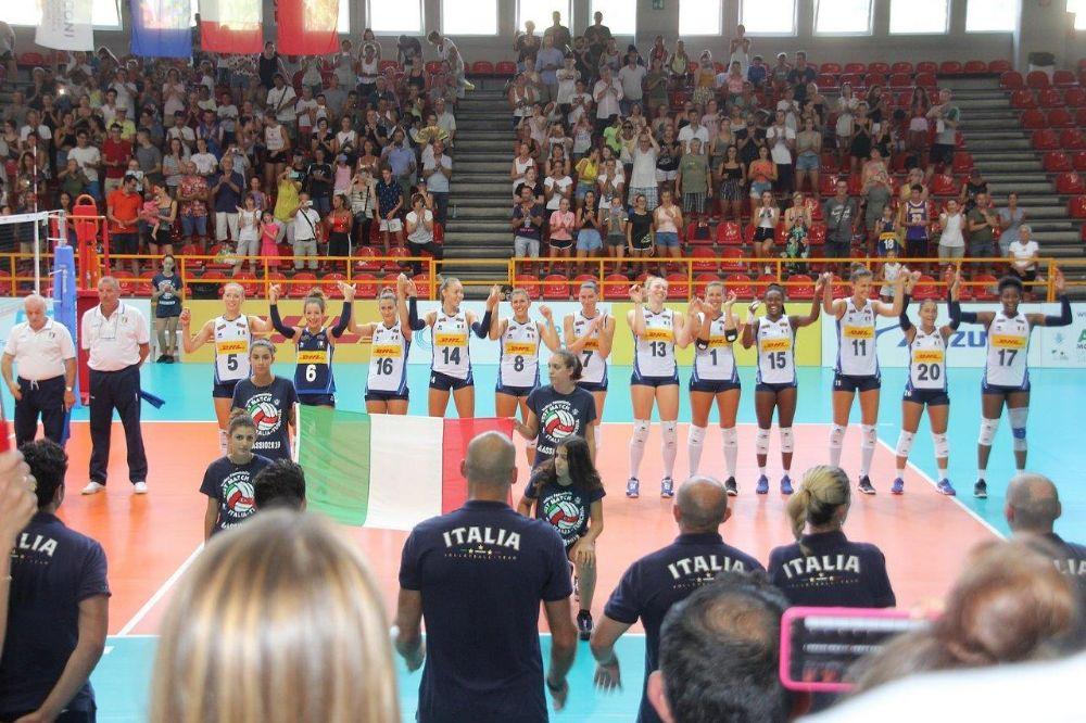 Le ragazze dell'Italvolley alle Olimpiadi: Alassio ancora una volta porta bene al tricolore!