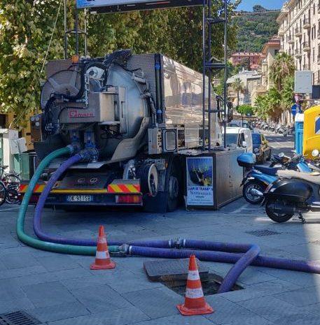 Sca: triplo intervento su condotta fognaria e rete idrica