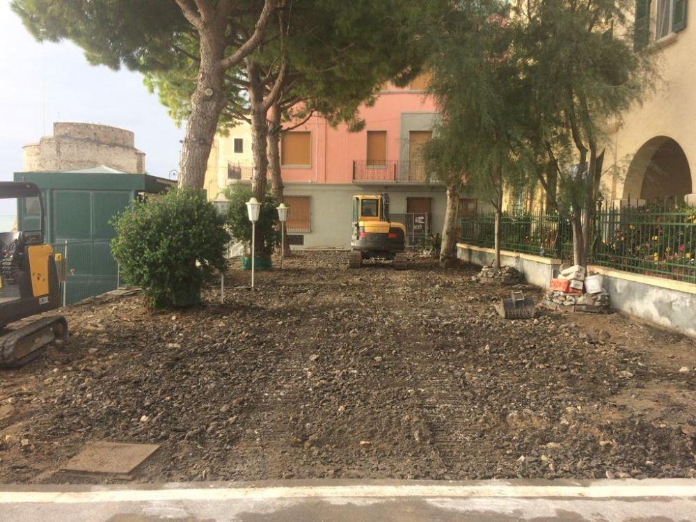 Lavori in Corso ad Alassio