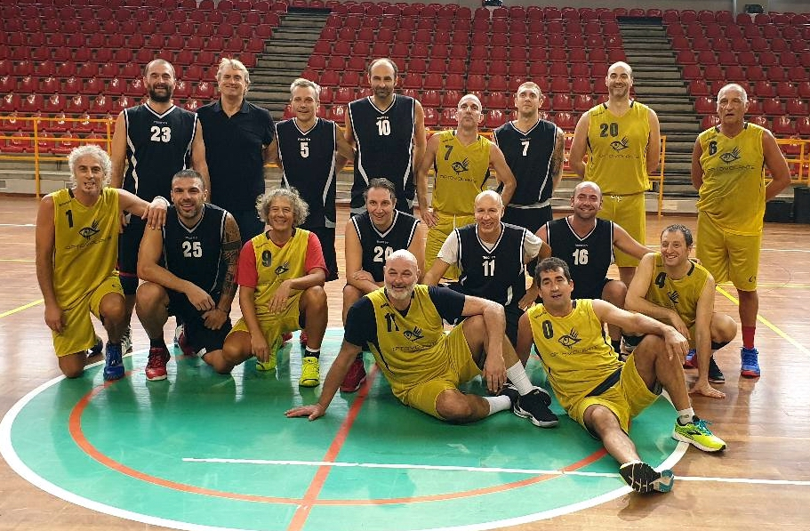 Basket Over 40: il Memorial Gabriele Amerio al Rapallo