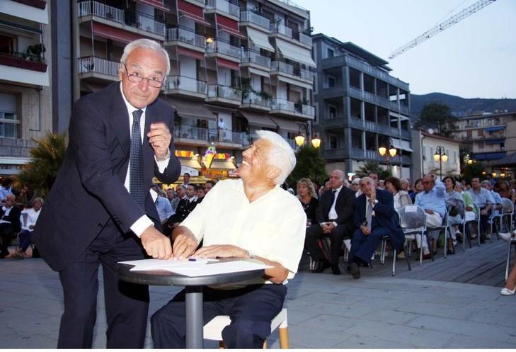Anche Alassio dice addio al Prof. Giovanni Bogliolo, da 25 annianima del Premio Alassio Cento Libri