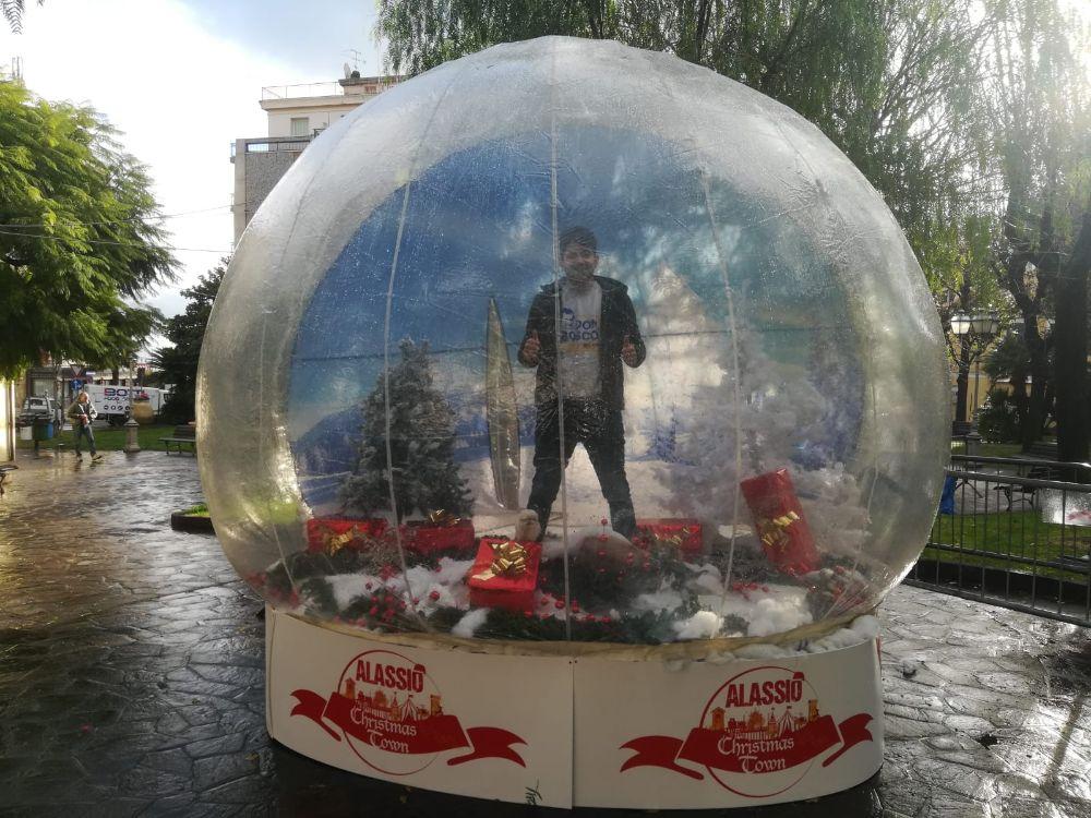 Alassio Christmas Town: arriva la bolla!