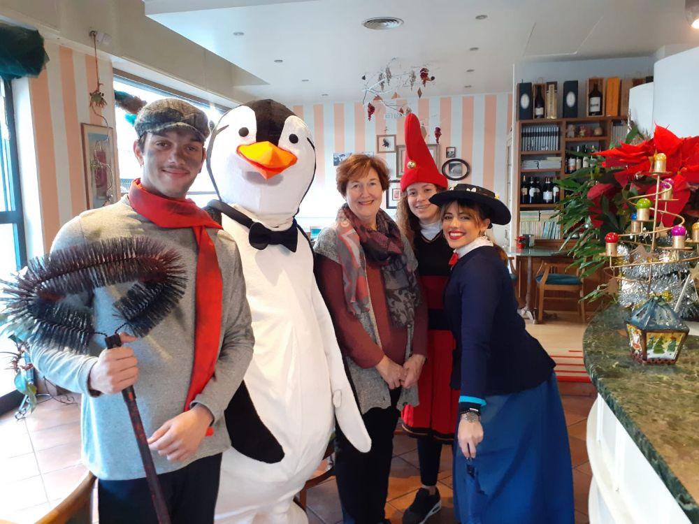 Il grande abbraccio di Alassio Christmas Town