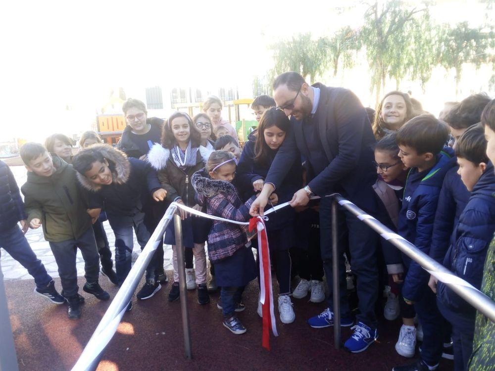Nuova area ricreazione per l'Istituto Figlie di Maria Ausiliatrice