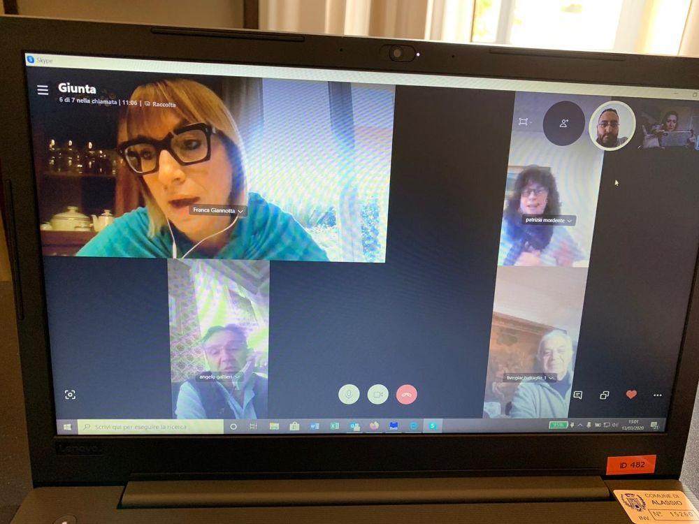 Giunta operativa via Skype