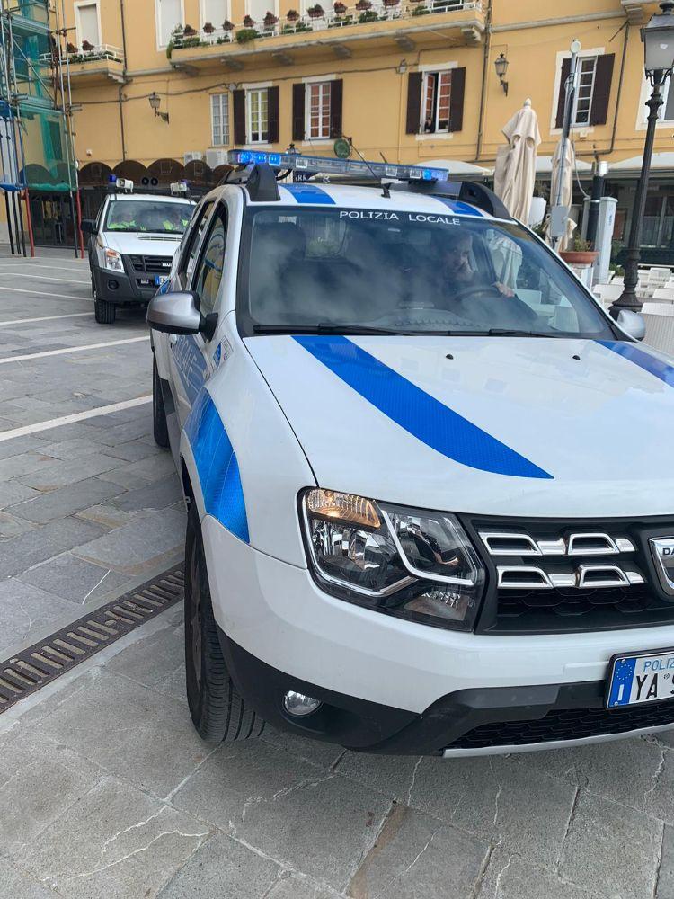 Alassio: avvisi e controlli per le strade