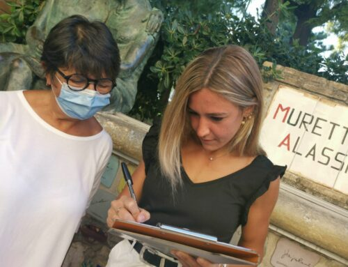Luminosa firma il Muretto… a sorpresa.