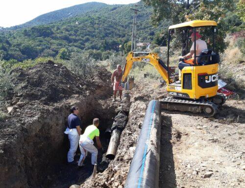Rottura acquedotto: conclusa la riparazione
