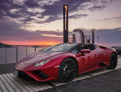 Lamborghini sceglie Alassio per la sua Huracan