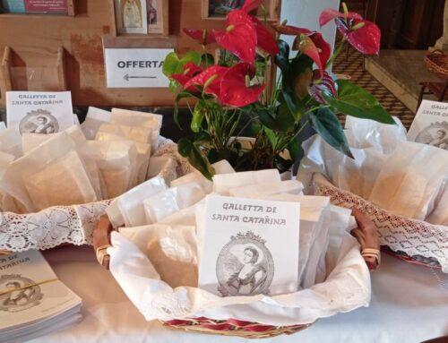 Le Gallette di Santa Caterina presentate al Vescovo