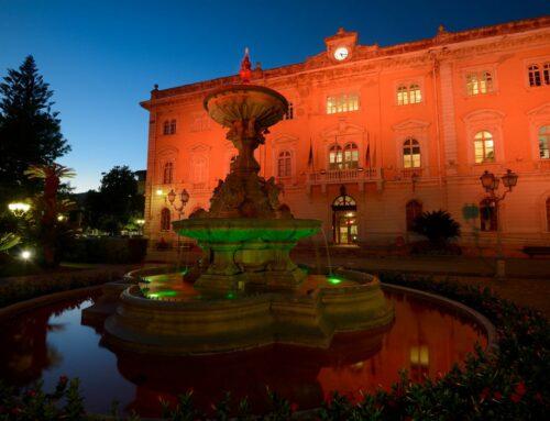 Da ieri sera la facciata del Palazzo Comunale di Alassio si è tinta di Arancione per dire no alla Violenza contro le Donne