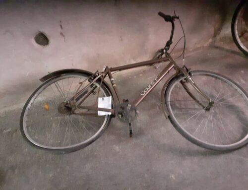 Rimosse 17 biciclette abbandonate