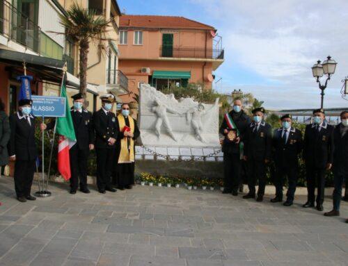 Restyling per il monumento ad Alassio Marinara