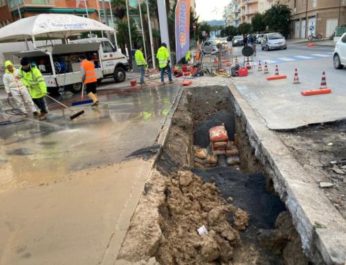 Ennesima rottura: via ai lavori di sostituzione di 500metri di acquedotto