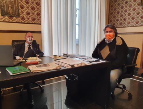 Nuovi servizi per Passeggiata Ciccione: incontro in Comune con il Consigliere Vaccarezza