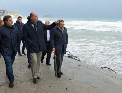 Incontro Toti-Melgrati: erosione costiera e sanità i temi sul tavolo