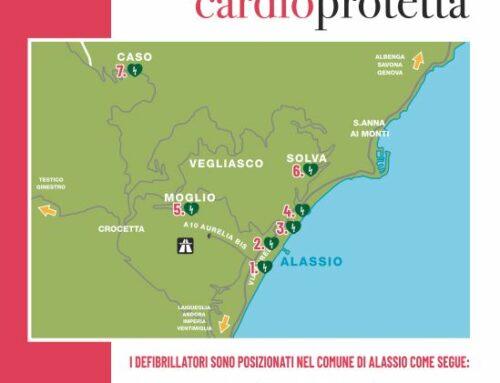 Alassio città cardioprotetta: operativi i sette defibrillatori